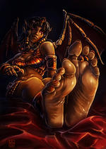 1_girl feet small_breasts tagme // 753x1062 // 163.0KB